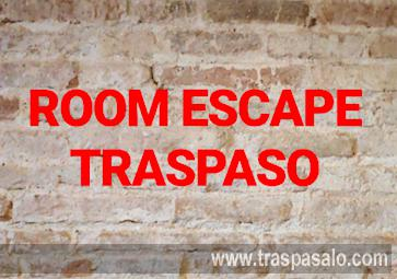Traspaso Escape Room en Barcelona